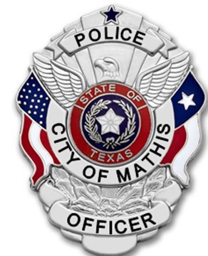 MATHIS PD BADGE